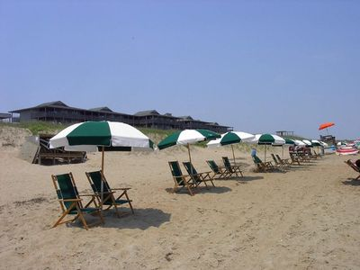 Photo for 2 bedroom deluxe suite at beach front Outer Banks Beach Club Resort