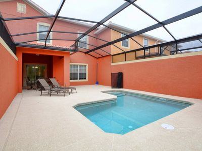 Photo for CLOSE TO DISNEY,PRIVATE SPLASH POOL,PROFESSIONALLY DECORATED,GATED RESORT, FREE WIFI!