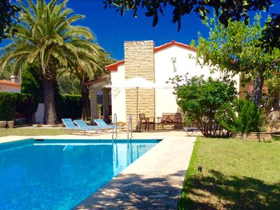 Photo for VILLA WITH PRIVATE POOL ideal 2 FAMILIES, PORTAVENTURA