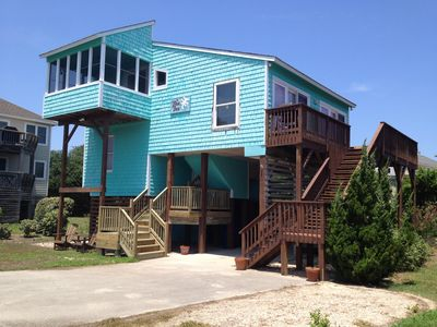 Photo for 6th House From Beach! Steps to Duck Town! 3 Bed, 2 Bath. Updated!