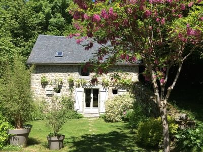 Photo for Between lakes and forests, Ardoisette charming cottage *** in property of 1 ha