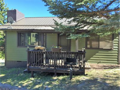 Photo for In the heart of Greer, remodeled 2 Bedroom Blue Spruce Cabin at Antler Ridge