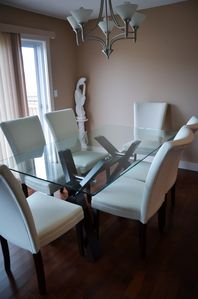 Photo for 5 bdrm (4+sofabed) Terwillegar Home, 2100sf, sleeps 10, WiFi, BBQ, A/C, ping pong