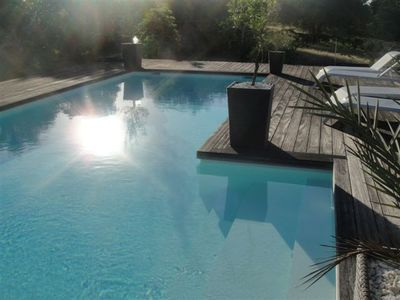 Photo for Villa Standing / POOL / SPA / wooded 1800m² St Ste ANNE-FRANCOIS
