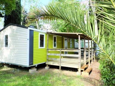 Photo for Camping Les Salisses **** - Mobil Home Grand Confort TV Clim 3 Rooms 4/6 People