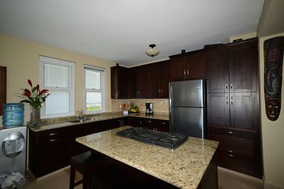 Beautifully renovated kitchen with granite counters and Stainless appliances
