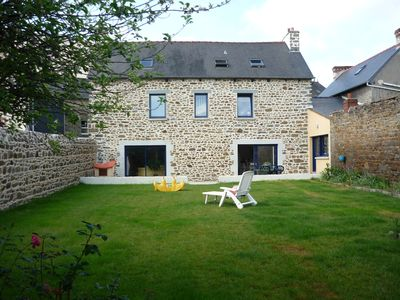 Photo for Beautiful stone house with garden in the center of St Brieuc.