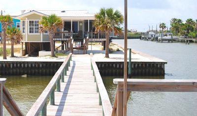 Harbor House - View of house from private pier