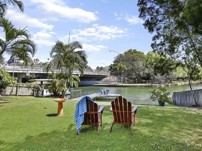 Photo for Waterfront, River Views, Walking Distance to Noosa River