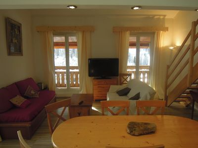 Photo for Comfortable apartment at the foot of the slopes of Isola 2000
