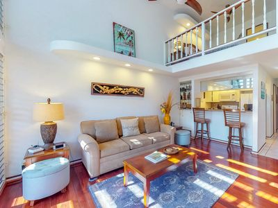 Photo for NEW LISTING! Airy condo w/shared pool/hot tub, steps to beach & Kihei activities
