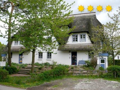 Photo for Apartment Lucky Skipper, thatched Zingst Darß directly on the dike 4 stars