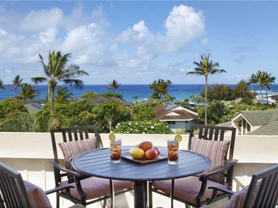 Photo for Poipu Beautifully Remodeled 2 bed Ocean View  A/C Bedroom*Manualoha 306*