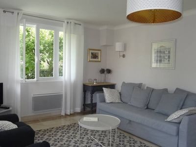 Photo for Charming apartment with garden