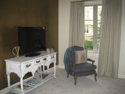 sitting room & TV