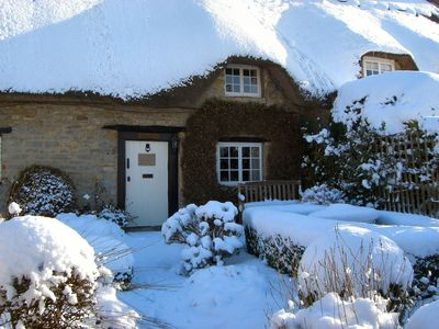 Photo for A real get away from it all romantic thatched holiday cottage