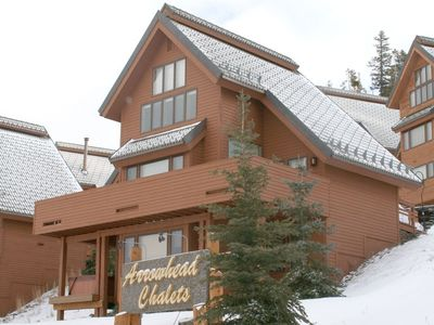 Photo for Convenient Big Sky Family Chalet Ski-in/Ski-Out Access