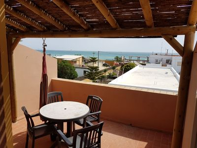 Photo for El Palmar apartment next to the beach