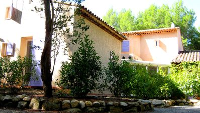 Photo for 2 lodgings in Provence in Lambesc in the pool and in the heart of the pine forest