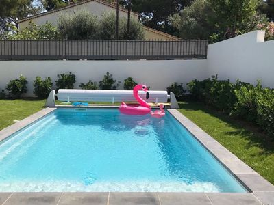 Photo for NICE AND COMFORTABLE VILLA WITH SWIMMING POOL AND GARDEN / 6 PERS.