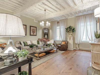 Photo for CASA ETTORE, Romantic and Luxury 3 Bedroom Apartment inside the Walls of Lucca