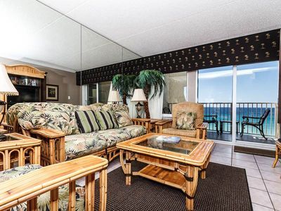 Photo for Bright gulf front condo, Stunning views, Close to entertainment