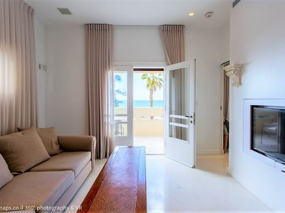Photo for SUMPTUOUS 2BD with Sea View - TEL AVIV - GORDON BEACH