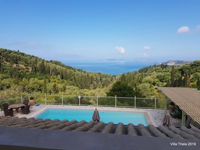 Photo for Villa Theia, beautiful view in the heart of olive trees