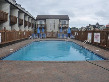 Beautiful Oceanfront Condo located on the beach with our own heated pool