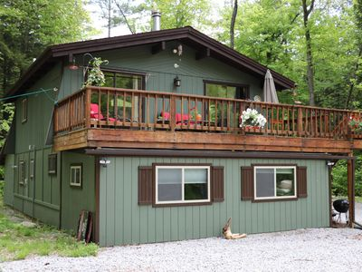 Photo for Peaceful Riverfront, surrounded by Nature,  Pet friendly Retreat