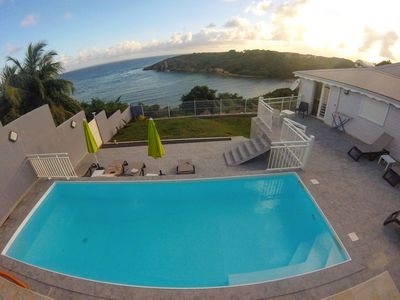 Photo for Bed and Breakfast with exceptional sea views Paradise place