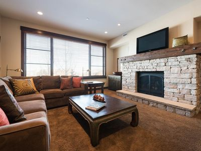 Photo for Modern luxury condo with king suites -- on-site chairlift, concierge and winter shuttle service