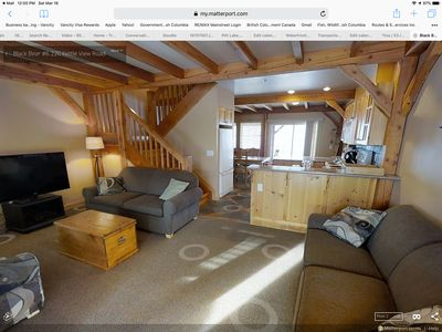Photo for 3BR 3 Bath townhouse-private hot tub, ski in skiout