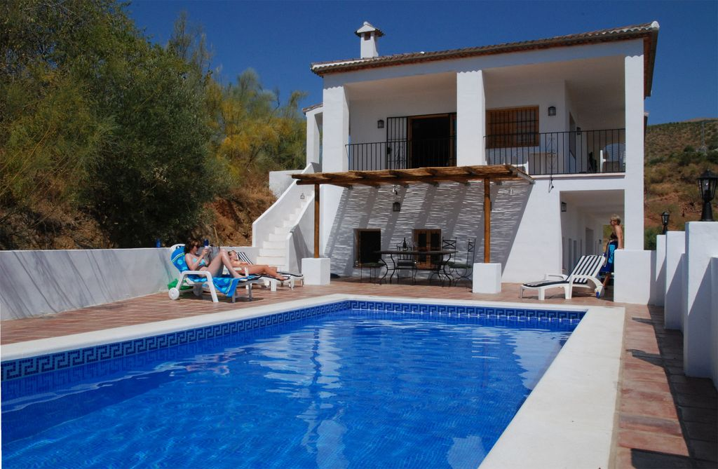 Colmenar Villa Rental   Large Pool With Plenty Of Room For Topping Up Your  Tan.