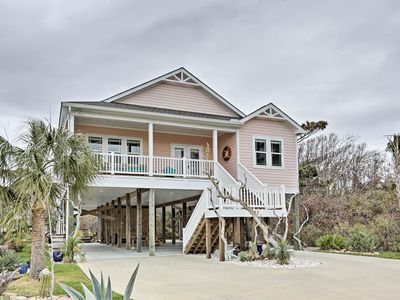 Photo for NEW! Spacious 'Pink Flamingo' Home - Walk to Beach