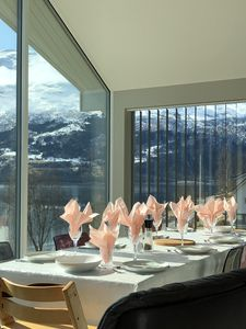 Welcome to Solvik! Our kichen with good seating for 10 persons.