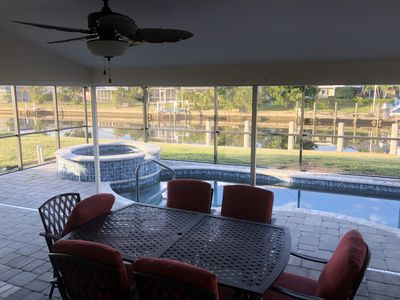 Photo for Waterfront 3/2 in beautiful Punta Gorda Isles AVAILABLE for this summer!