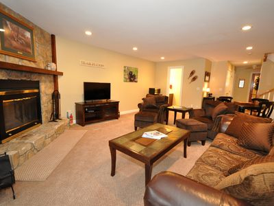 Photo for Immaculate 4BR Condo w/ Cranmore Views! 2 Living Rooms,Cable, WiFi, Games!