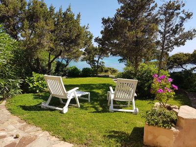 Photo for Charming apartment by the sea, Porto Cervo, Cala Granu