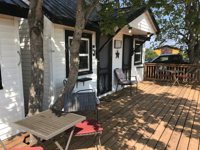 Photo for The Coastal Cabins- Cape Tormentine - Coastal Cabin # 6 - 2 double beds, walking minutes from the sandy beach
