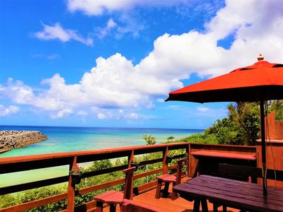 Photo for #B [Special Offer] 154㎡ Beautiful Beachside House Sea of Toya Yomitan Okinawa