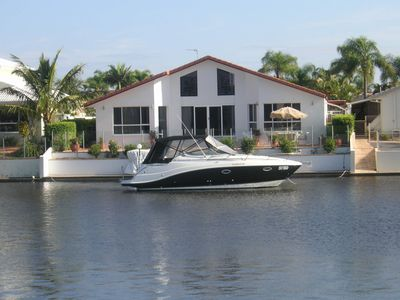 Photo for DREAM WATERFRONT HOLIDAY HOME ON RUNAWAY BAY ISLAND, GOLD COAST (New Listing)