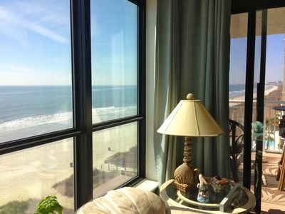 Photo for Oceanfront Condo With Best Views On The Beach!