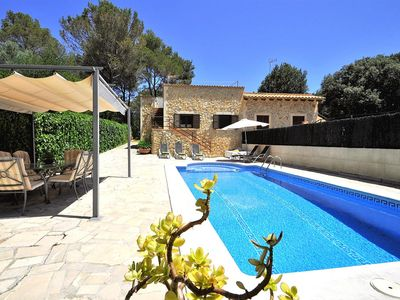 Photo for CA NA CARMEN -Chalet for 6-8 people in Crestatx with private pool and BBQ. Children wellcome-00037- - Free Wifi