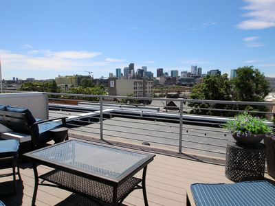 Photo for Modern LoHi Townhouse with Rooftop Deck and Downtown Views