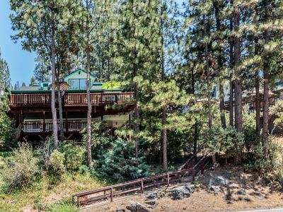 Photo for Lakeview Home with 3 Decks and Boat Slip at Bass Lake