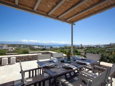 Photo for Kallisti Elia · Serene holiday villa - Views, nr Best family Beach