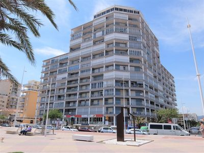 Photo for BONAIRE 9º - 1 BEDROOM. FIRST LINE BEACH GANDIA