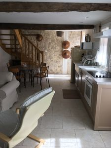 """Photo for Charming cottage """"Le Petit Logis"""" with garden and jacuzzi for 4/5 people"""