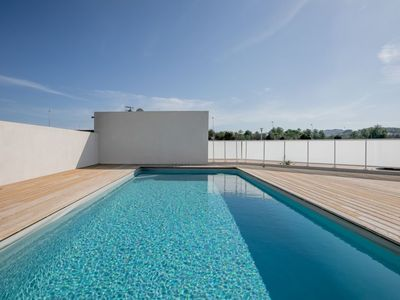 Photo for Poretta Apartment, Sleeps 8 with Pool, Air Con and Free WiFi
